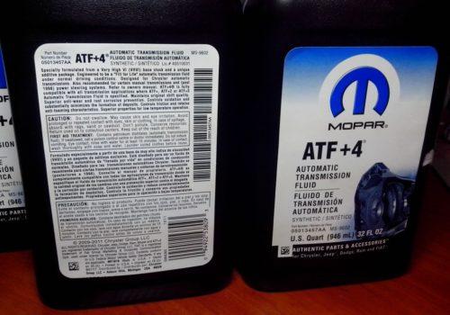 Трансмиссионное масло Chrysler 05013457AA для АКПП автомобиля Мицубиси Лансер 10