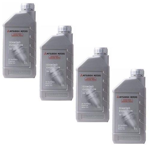Оригинальное масло Diamond Evolution SAE 5W-30 для заливки в двигатель Митсубиси Лансер 9