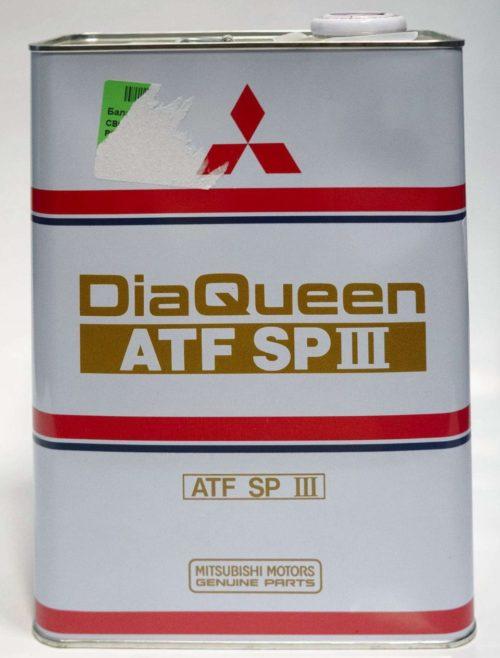 Масло Diaqueen ATF SP III артикул 4024610B для Мицубиси Лансер 10