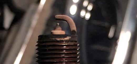 Хороший цвет нагара на свече зажигания с Тигуана 2.0 TSI