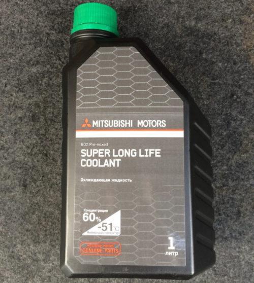 Канистра емкостью в 1 литр с антифризом для Митсубиси Лансер 10 с двигателем 1.5