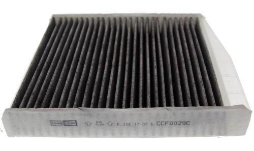Правильный артикул на боковой грани салонного фильтра Champion CCF0320C для Фольксваген Поло седан