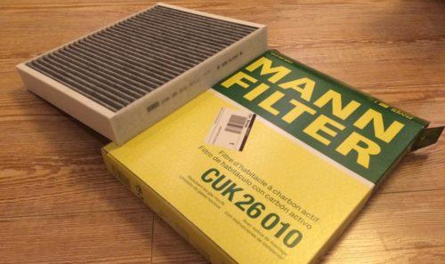 Салонный фильтр угольного типа MANN CUK 26010 для замены в автомобиле Фольксваген Поло седан
