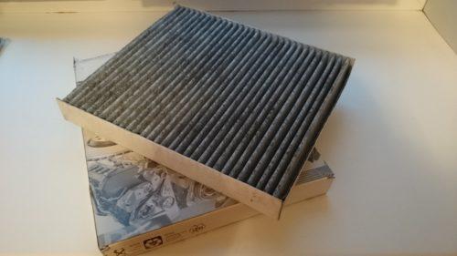 Внешний вид оригинального фильтра салона 6R0819653 для Фольксваген Поло седан