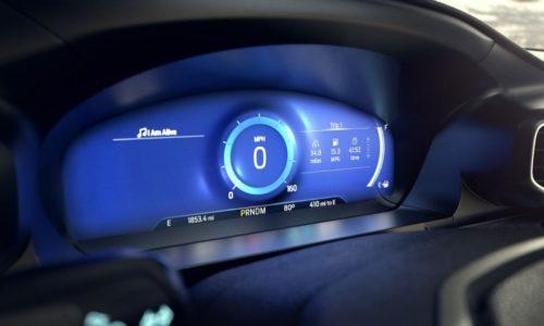 Обновленная приборная панель с ЖК-дисплеем в Форд Эксплорер 2020 модельного года