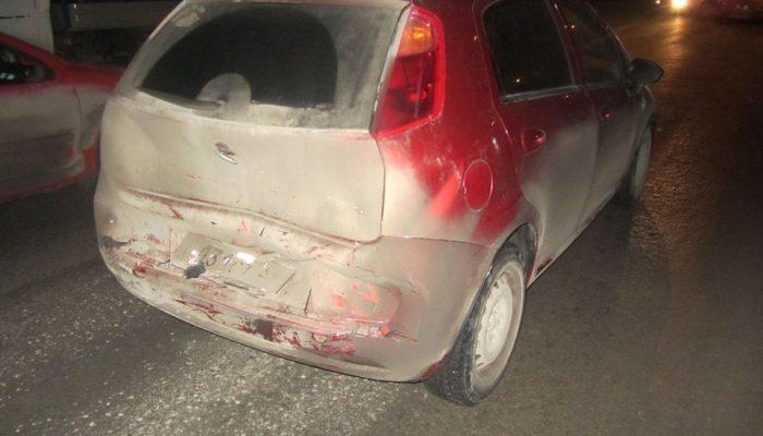 Фиат Гранд Пунто 2007 года выпуска после дтп удар в зад
