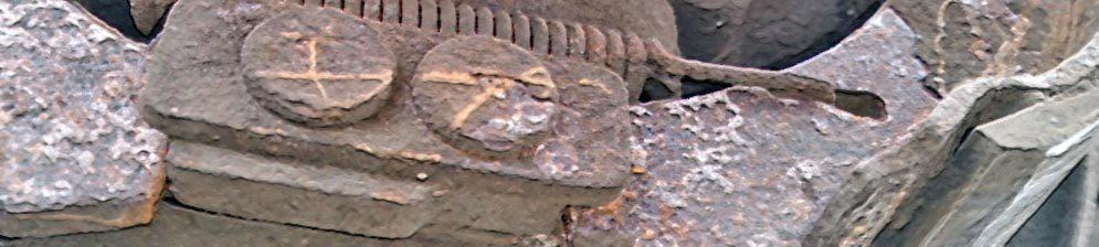 Пружина задних тормозных колодок на Лада Приора