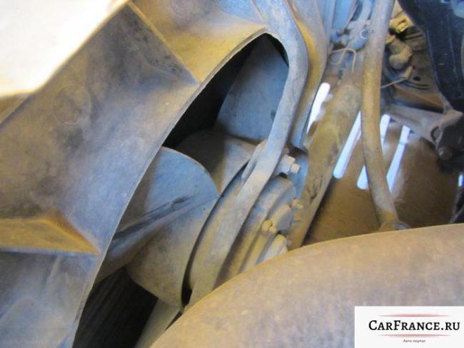 Вентилятор охлаждения двигателя на Лада Приора