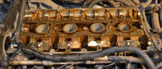 Гидрокомпенсаторы на двигателе Лада Приора разобранный вид 16 клапанов
